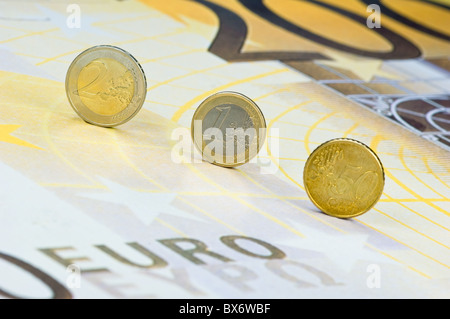 European Hardcash - Stock Photo