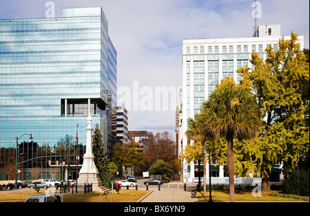 Buildings in Downtown of Columbia - Stock Photo