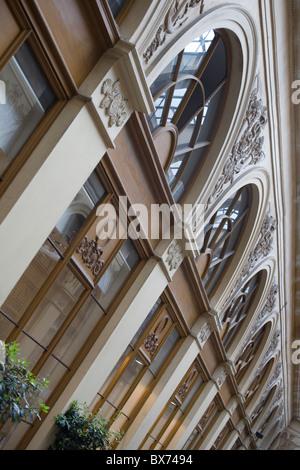shops in galerie vivienne - Stock Photo