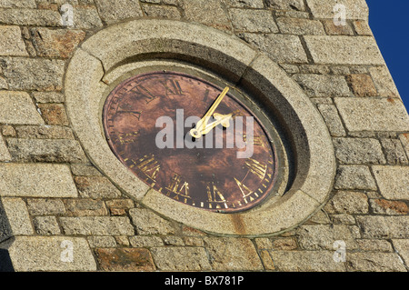 Old Clock Face - John Gollop - Stock Photo