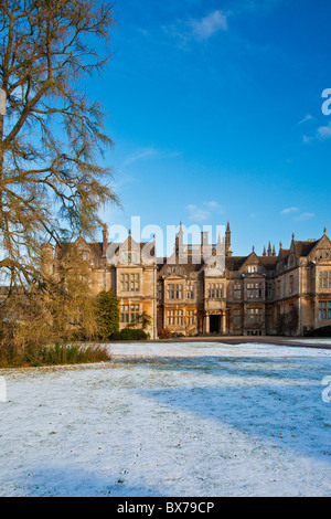 Corsham Court in Wiltshire, home to Bath School of Art and Design (Academy of Art) part of Bath Spa University in - Stock Photo