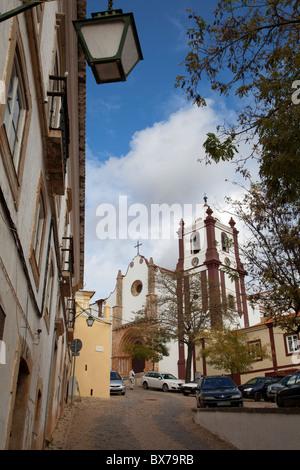 Catedral de la Se at Silves in the Algarve Portugal - Stock Photo