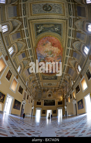Salone Della Meridiana, National Archaeological Museum, Naples, Campania, Italy, Europe - Stock Photo