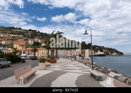 Porto Santo Stefano, Monte Argentario, Tuscany, Italy - Stock Photo
