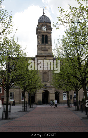 Derby Guildhall on Market Place in Derby - Stock Photo