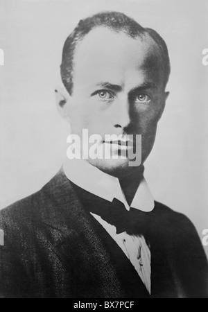 Vintage portrait photo circa 1910s of Antarctic explorer and geologist Sir Douglas Mawson (1882 - 1958). - Stock Photo
