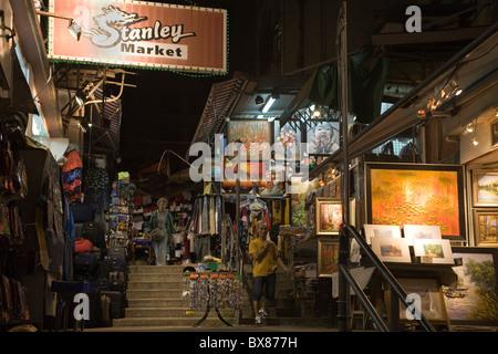 China Hong Kong Stanley market - Stock Photo