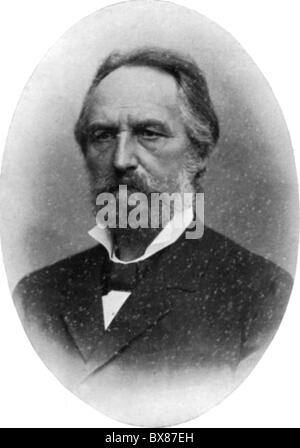 Fick, Adolf Eugen, 3.9.1829 - 21.8.1901, German physiologist, portrait, late 19th century, , Additional-Rights-Clearances - Stock Photo