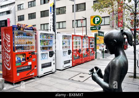 street scene, Ginza, Tokyo, Japan - Stock Photo