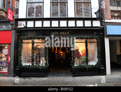 A Jack Wills Store in Nottingham, England, U.K. - Stock Photo