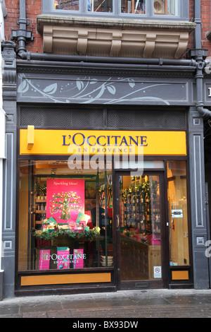 A L'Occitane En Provence store in Nottingham, England, U.K. - Stock Photo