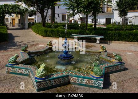 Andalusia, Tarifa, Plaza Santa Maria - Stock Photo