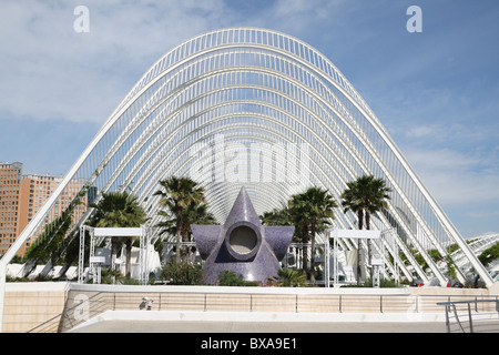 City of Arts & Sciences in Valencia - Spain Stock Photo, Royalty Free Ima...