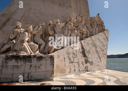 Padrão dos Descobrimentos, Lisboa, Portugal  Monument to the Discoveries, Lisbon, Portugal, Europe 2010 - Stock Photo