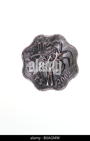 Swaziland coin - Stock Photo