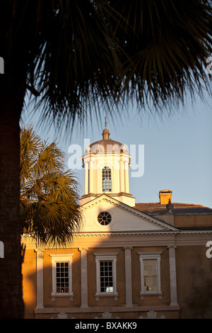 Old Exchange Building and Provost Dungeon in Charleston, SC. - Stock Photo