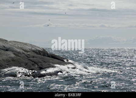 Rocky sea side - Stock Photo