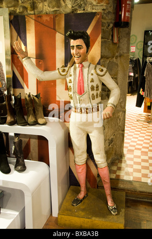 United States Memphis Tennessee Elvis Presley Fashion Shop Doll - Stock Photo