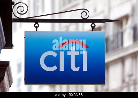 Writing Logo Citibank Stock Photo 3685245 Alamy