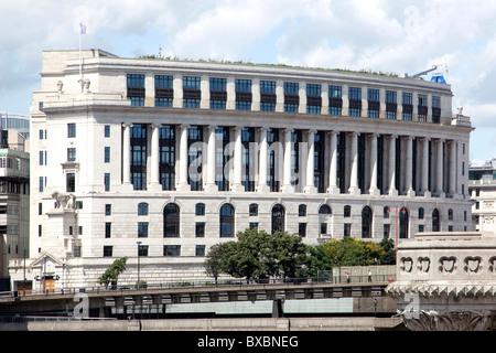 Headquarters of the British-Dutch company Unilever, Unilever House, London, England, United Kingdom, Europe - Stock Photo