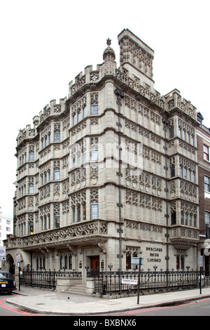 Subsidiary of the Barclays Bank in an old building in London, England, United Kingdom, Europe - Stock Photo