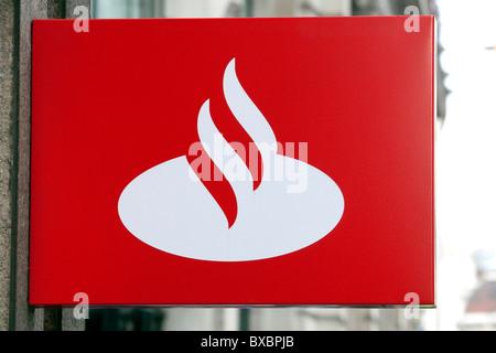 Santander Logo Bank Banks Stock Photo 58172505 Alamy