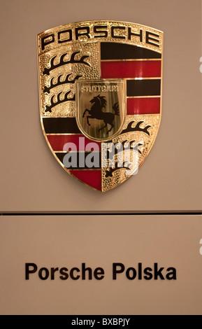 Porsche: symbol 4 Stock Photo, Royalty Free Image ...