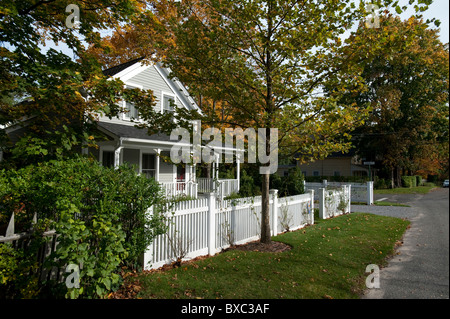 The Hamptons, Sag Harbor, New York - Stock Photo