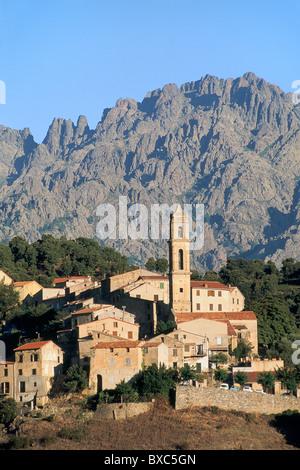 France, Corsica, Haute-Corse, Corte Region, Soveria