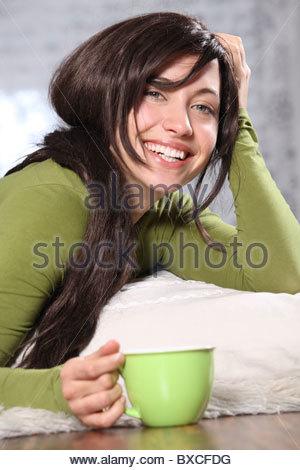 woman relaxing - Stock Photo