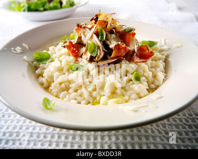 how to cook porcini risotto
