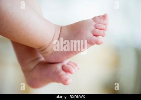 Baby's feet - Stock Photo
