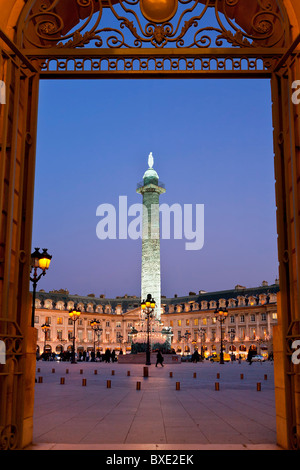 Paris, Place Vendome - Stock Photo