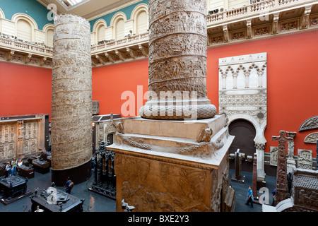 City of London, Victoria and Albert Museum - Stock Photo