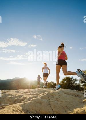 Trail runners - Stock Photo