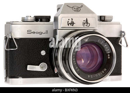 photography, cameras, reflex camera, Seagull, China, circa 1979, Additional-Rights-Clearences-NA - Stock Photo