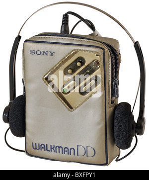 technics, tape recorder, Sony Walkman, Japan, 1983, Additional-Rights-Clearences-NA - Stock Photo