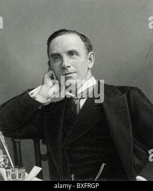 John Morley (1838-1923) 1st Viscount Morley of Blackburn England. British Liberal Statesman. Politician, Journalist, - Stock Photo