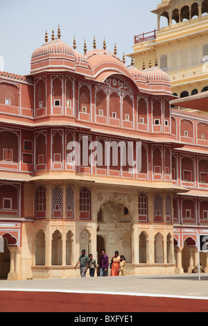 City Palace, Jaipur, Rajasthan, India, Asia - Stock Photo