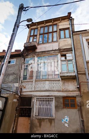Old houses in Tbilisi old town, Kala, Georgia. JMH3975 - Stock Photo