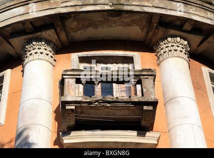 old balcony - Stock Photo