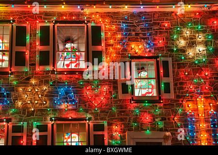 Christmas display at Koziar's Christmas Village, Bernville, PA ...