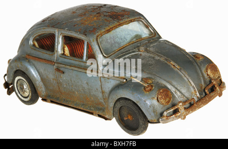 toys, toy cars, VW Beetle, Germany, circa 1959, Additional-Rights-Clearences-NA - Stock Photo