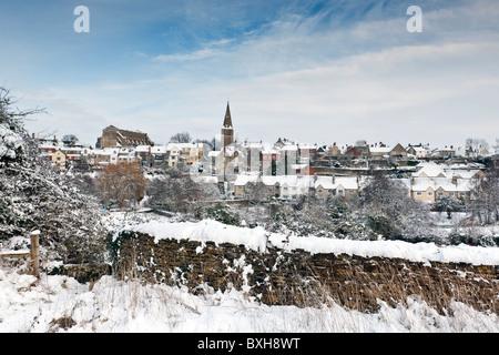 Winter in Wiltshire - Stock Photo