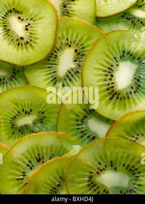kiwi slices - Stock Photo