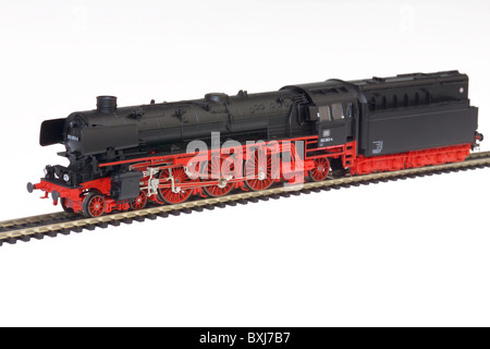 toys, model railway, Maerklin locomotive, type 012, Reichsbahn, Germany, 1937, historic, historical, 1930s, 30s, - Stock Photo