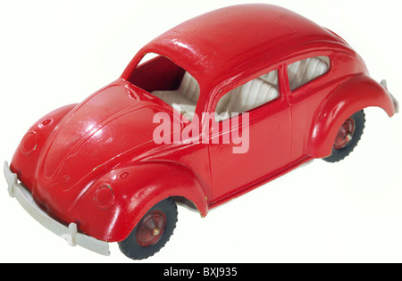 toys, toy car, VW beetle, Germany, circa 1959, Additional-Rights-Clearences-NA - Stock Photo