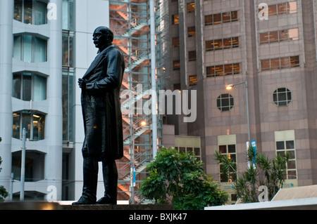 Hong Kong Hsbc Bank By Sir Norman Foster Stock Photo Royalty Free Image 9174879 Alamy