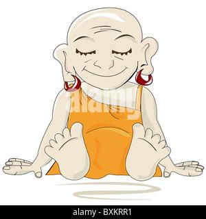 Little Buddha - Stock Photo