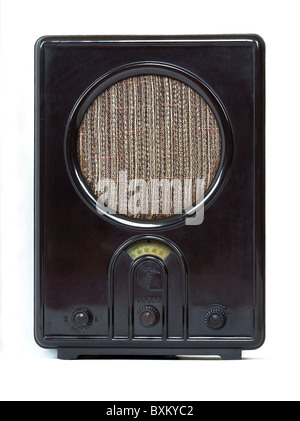 broadcast, radio, Volksempfaenger (People's receiver) 'VE 301 W', Germany, 1933, Additional-Rights-Clearences-NA - Stock Photo